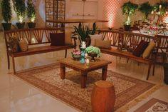 Lounge - Casamento Rústico-Chique