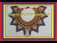 Collar en mostacilla //segunda parte BIENVENIDOS A MI CANAL los invito a realizar este hermoso collar en mostacilla como tambien a ver los siguientes videos ...