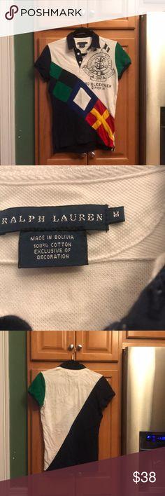 Ralph Lauren Sailing Rugby M Excellent condition. Ralph Lauren Tops
