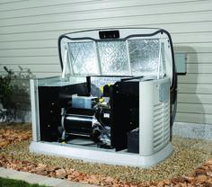 Portable generator baffle (quiet) box. Fan cooled, sound