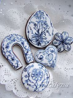 decorated cookies ... by natalyna via Flickr