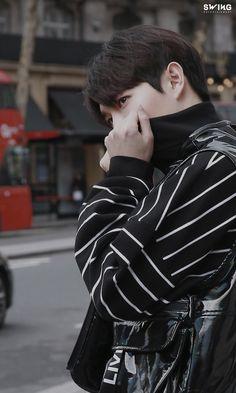 [Kim Jae-hwan] IZZUE London Street Fashion Picture Behind: Naver Post