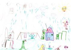"""""""Speeltuin in de regen"""" (6 jaar)"""