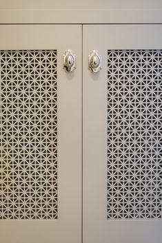 View the portfolio of interior designer Town & Country Kitchen and Bath Diy Cupboard Doors, Kitchen Cabinet Doors, Door Design Interior, Main Door Design, Jaali Design, Decoration Inspiration, Built In Bookcase, Wardrobe Doors, Kitchen And Bath