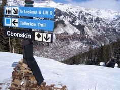 2/10/12 Telluride, Colorado.  Best way to get down.  Coonskin.