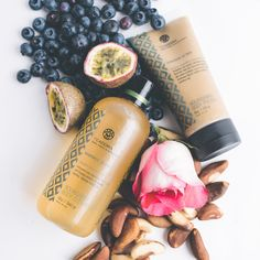 """Superfood for skin and hair.  Our high performance bath and body products are infused with exotic and naturally anti-aging superfruits and botanicals from the Amazon rainforest. Using decadent scents and textures, our products are designed to transport you to magical rainforest moments through a total immersion of your senses."""