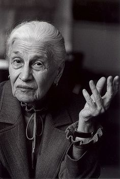 Eve Arnold, 1997 photo Jane Bown for The Observer