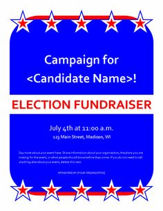 political fundraiser invitations political fundraiser event flyer for publisher 2007 or newer events