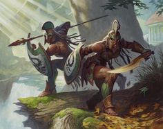 Magic: the Gathering Theros art