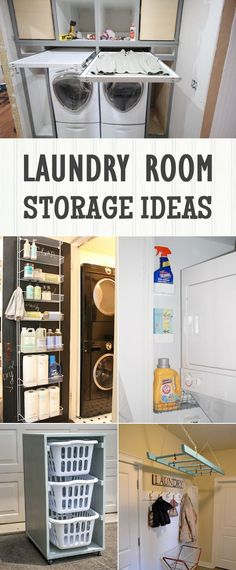 Check out these 12 laundry room storage and organization ideas to make your space more efficient.