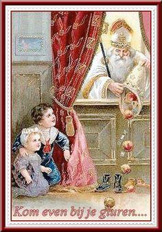 Sinterklaas de gulle man..........          lb xxx,