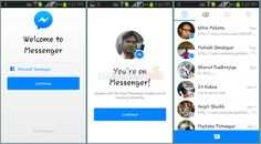 Facebook Messenger Android App - Faster Facebook Experience