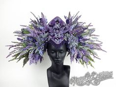 Lavender Headdress b