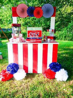 Adorable Retro 4th Of July Party!