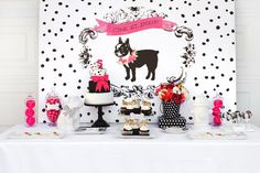 Puppy Party Printables by Itsy Belle by ItsyBelle on Etsy