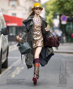 visual optimism; fashion editorials, shows, campaigns & more!: urban safari: romy de grijff by benjamin kanarek for the south china morning post 21st september 2014