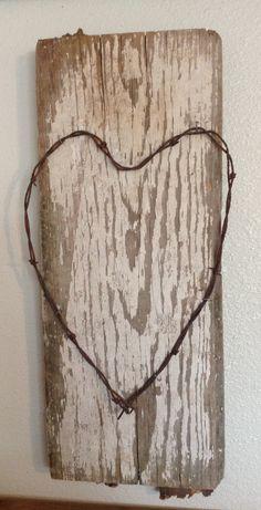 Vintage Heart via Etsy