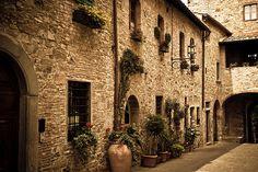 San Donato, Tuscany, Italy (by Choollus)    http://allthingseurope.tumblr.com/post/18940973025