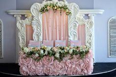 Президиум с гигантской рамой. Юбка из роз - Свадьбы - Сообщество декораторов текстилем и флористов