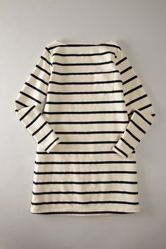 Long Sleeve Stripe Dress w/ tights and booties or leggings and boots!
