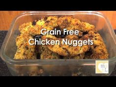 Healthy Recipe Video Tutorial : Grain Free Chicken Nuggets and How to Start a Garden Bed