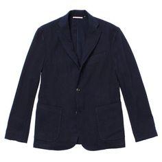 Indigo Wool Blazer | Huckberry