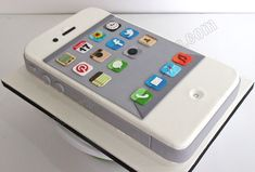 iphone cake | Celebrate with Cake!: iPhone Cake I found this soooo cute!!! :)