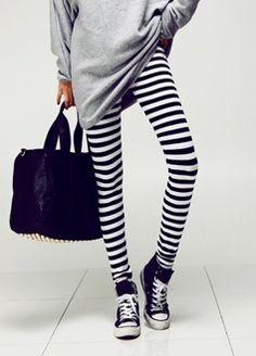 i see stripes.