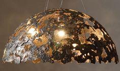 WOL koepel 50 cm  kleur:Brons