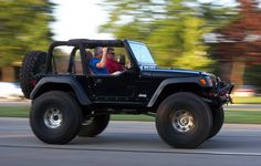 Nice Wrangler TJ Lifted at Dream Cruise Jeep Wrangler Off Road, Cj Jeep, Jeep Mods, Jeep Truck, Jeep Wrangler Unlimited, Chevy Trucks, Corvette Summer, Jeep Brand, Badass Jeep