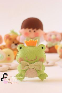 Felt Frog..