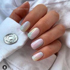 Pastel Nails, Cute Acrylic Nails, Nude Nails, Gel Nails, Pink Nail Art, Shellac, Gel Nail Polish, Coffin Nails, Nail Art Designs
