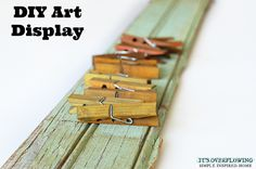DIY Art Display @Its