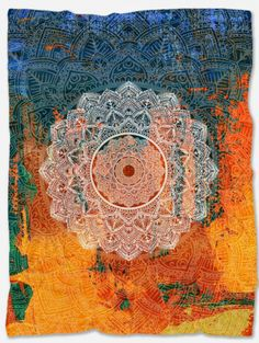 Provide warmth and comfort with this Mandala Boho Blanket. With its incredible design and vibrant colors, it will make your home even more beautiful. Not only that but it will make you feel extreme coziness with its soft and warm fabric. It is a perfect gift for someone you want to make happy and at the same time feel comfortable. It is handmade just for you and has a unique design that can't be found anywhere else. Bohemian Bedding Sets, Hippie Bedding, Boho Bedding, Duvet Bedding Sets, Comforters, Indian Tapestry, Bohemian Tapestry, Mandala Tapestry, Wall Tapestry