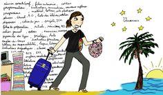 Illustration couleurs - Vacances