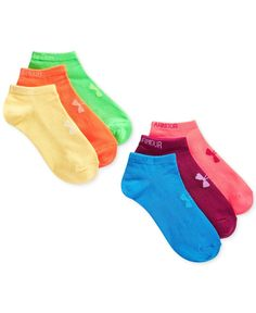 Women's Under Armour Liner No Show Socks 6 Pack