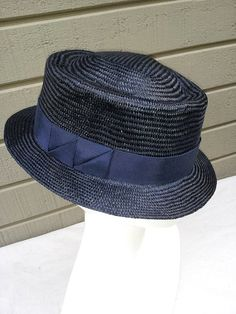 abd2c6cbbec Pork Pie Straw Hat Copernicus Hand Sculpted Straw by CorinaHaywood Millinery  Hats