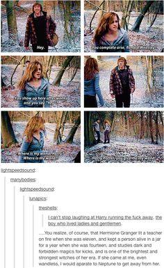 Hermione is BA