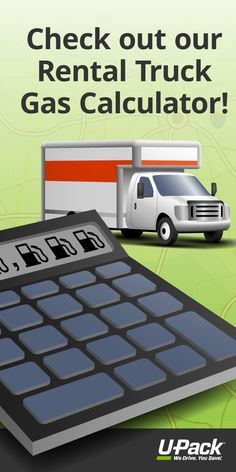 Compare your moving options: use this gas price calculator to determine your fuel cost if you're considering a rental truck for your household move.
