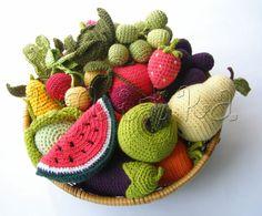 Gallery.ru / Фото #17 - Вязаные витамины (фрукты и овощи) - knitka