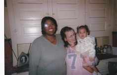 LaShana and her sister Kim and niece
