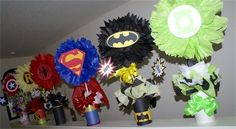 Justice League Centerpieces
