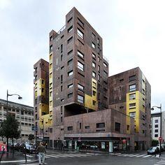 Paris, Masséna Housing. Beckmann N'Thépé