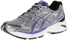 ASICS Womens GELFoundation 8 Running ShoeLightningIrisBlack6 M US *** Continue to the product at the image link.