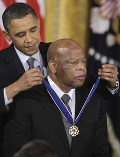 """Congressman John Lewis: Freedom Rider and former Chairman of the Student Nonviolent Coordinating Committee (SNCC), which he helped form. First Black President, Mr President, Freedom Riders, Black Presidents, Major Events, Civil Rights Movement, African American History, Culture, Michelle Obama"