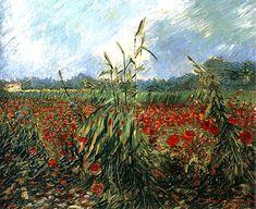 Vincent van Gogh「Green Ears of Wheat」(1888)