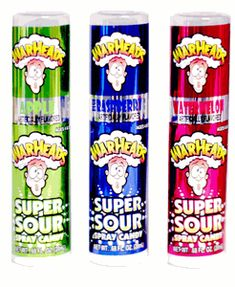 Warheads Super Sour Spray Candy
