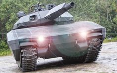 PL-01 Future Stealth Tank Unveiled By Poland