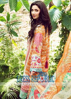 Elan Lawn Collection 2014 with Prices | Pakistani Lawn Online  Buy Elan Lawn Collection 2014 with Prices