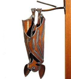 Metal Garden Bat - http://tmblr.co/ZPNP8u1MaZ-a9  http://www.facebook.com/goreydetails http://twitter.com/GoreyDetails